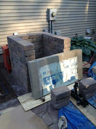 How To Build An Outdoor Brick Oven (43)
