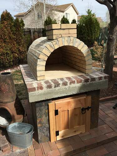 Homemade Outdoor Pizza Oven (30)