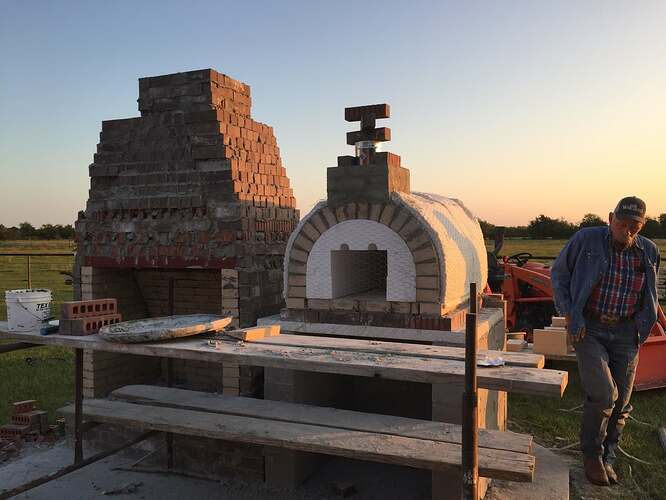 Pizza Oven Fireplace (2)
