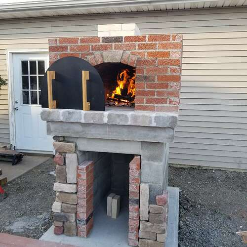 How To Make A Brick Oven (11)