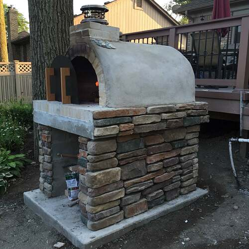 Simple Outdoor Oven (24)