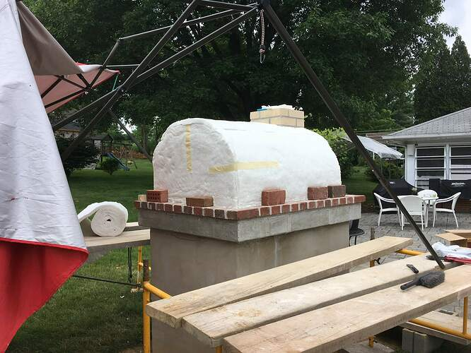 How To Build An Italian Pizza Oven (21)