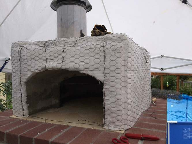 Home Made Pizza Oven (23)