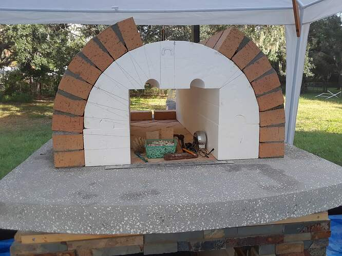 Building A Pizza Oven (105)