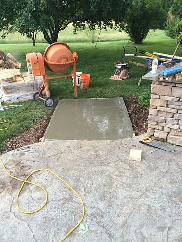 Making An Outdoor Pizza Oven (2)