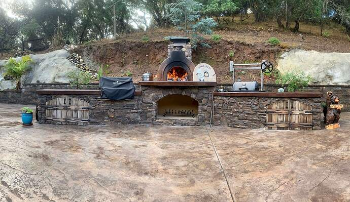 Pizza Oven Over Fireplace (33)