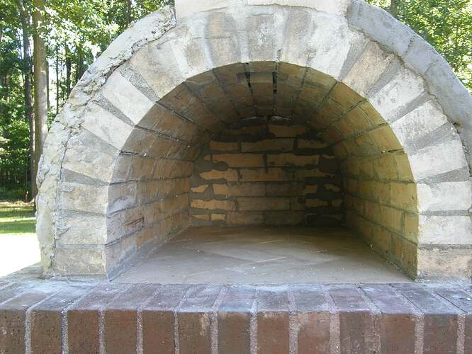 How To Make An Outdoor Pizza Oven (51)