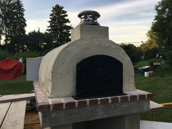 How To Build An Italian Pizza Oven (23)