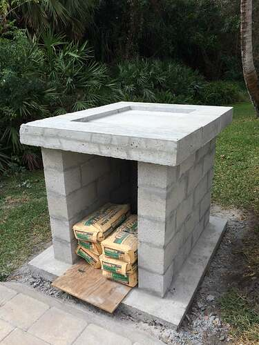 Building An Outdoor Oven (5)