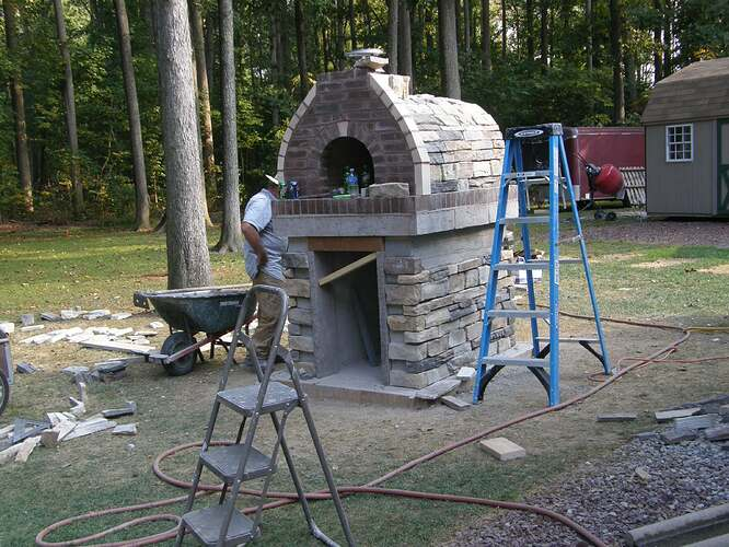 How To Make An Outdoor Pizza Oven (68)