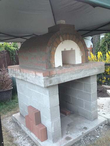 How To Build Pizza Oven (15)