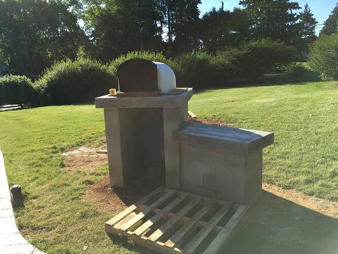 How To Build An Italian Pizza Oven (16)