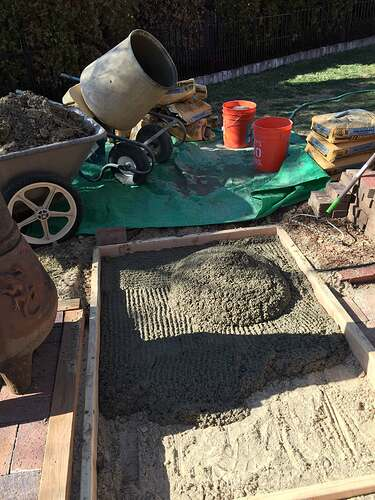 Homemade Outdoor Pizza Oven (6)