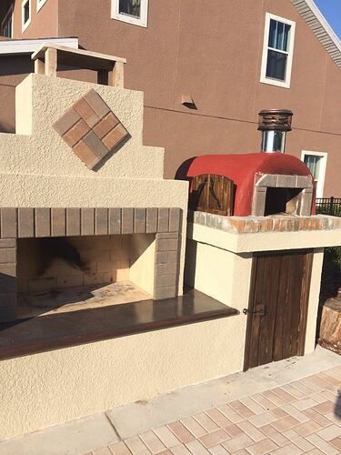 Outdoor Fireplace Pizza Oven Kits (21)