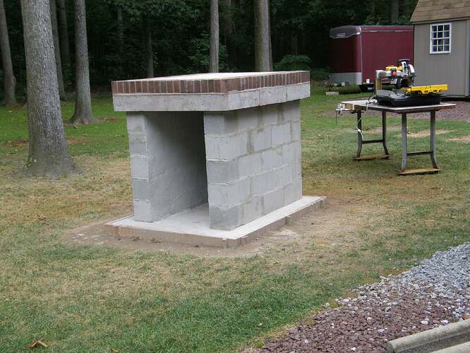 How To Make An Outdoor Pizza Oven (12)