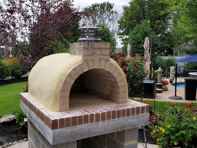 Home Wood Fired Pizza Oven (19)