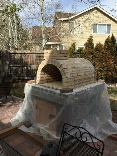 Homemade Outdoor Pizza Oven (31)