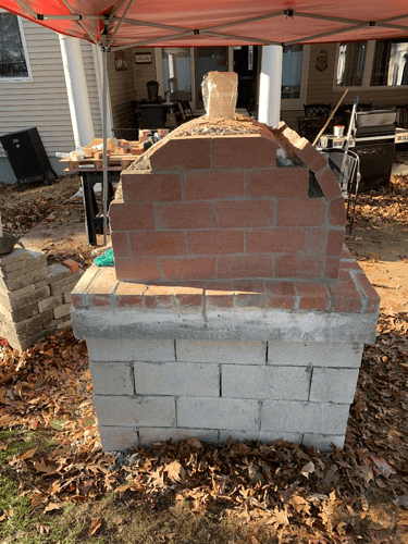 Homemade Wood Fired Pizza Oven (6)