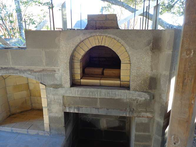 Outdoor Natural Stone Fireplace (12)