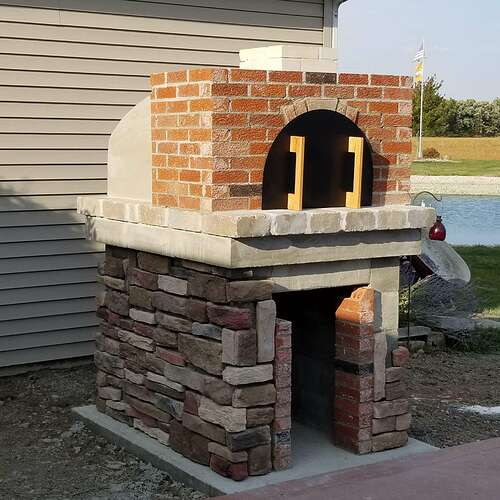 How To Make A Brick Oven (10)