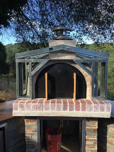 Outdoor Pizza Oven and Grill (10)