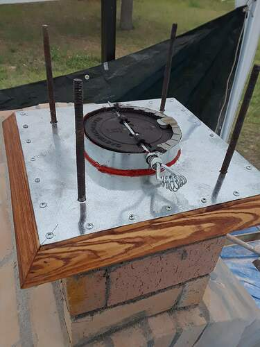 Building A Pizza Oven (140)