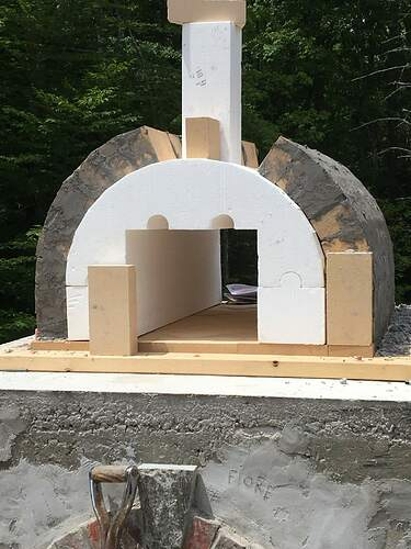 How To Build A Wood Fired Pizza Oven (42)