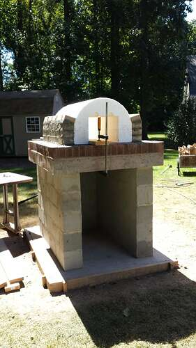 How To Make An Outdoor Pizza Oven (19)