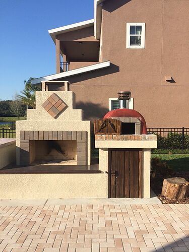 Outdoor Fireplace Pizza Oven Kits (22)