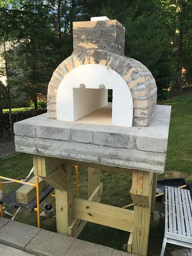 Building a Wood Fired Pizza Oven (20)