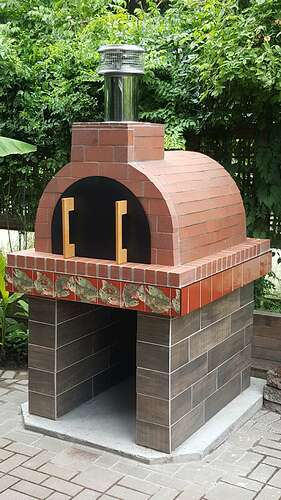 Wood Pizza Oven