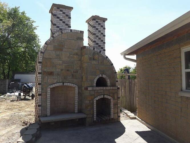Concrete Outdoor Fireplace (5)