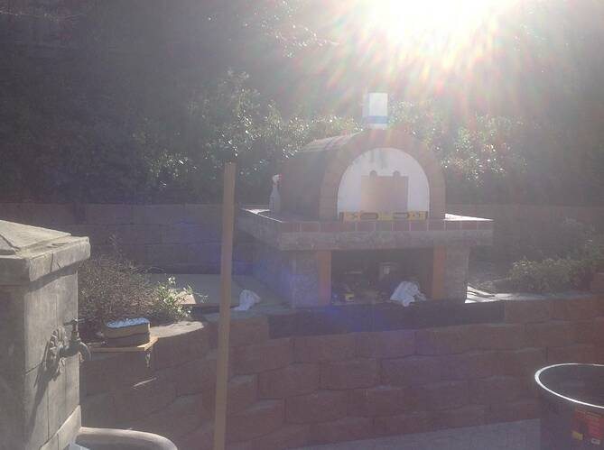 Build A Pizza Oven (12)