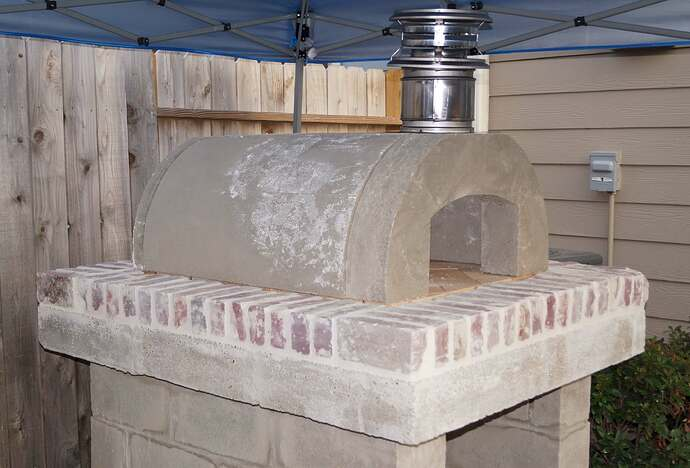 Refractory Cement Pizza Oven (86)