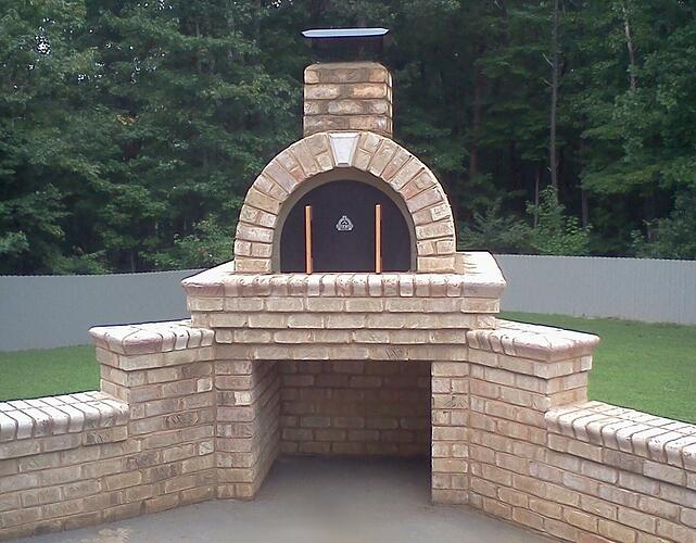 Making a Outdoor Pizza Oven