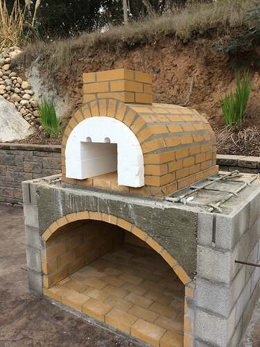 Pizza Oven Over Fireplace (7)