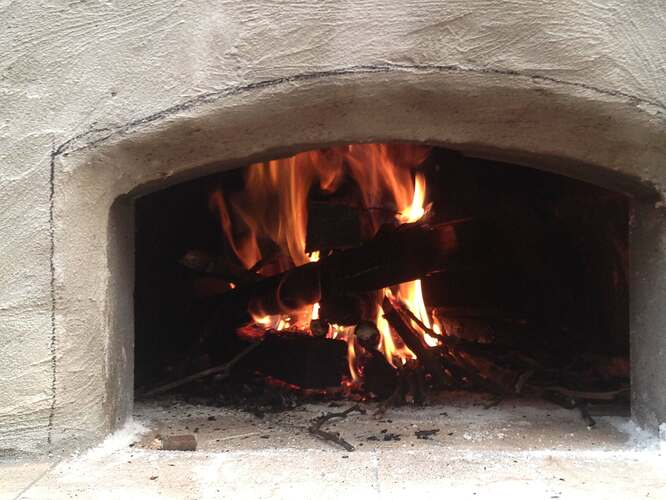 How To Build An Outdoor Brick Oven (83)