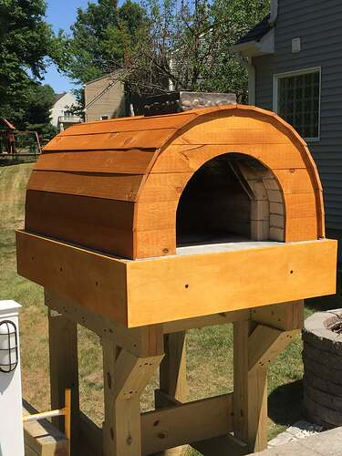 Building a Wood Fired Pizza Oven (46)