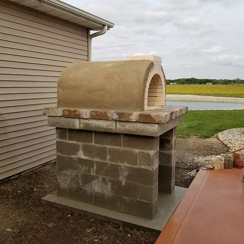 How To Make A Brick Oven (7)