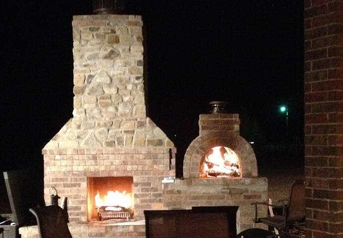 Large Outdoor Fireplace (13)