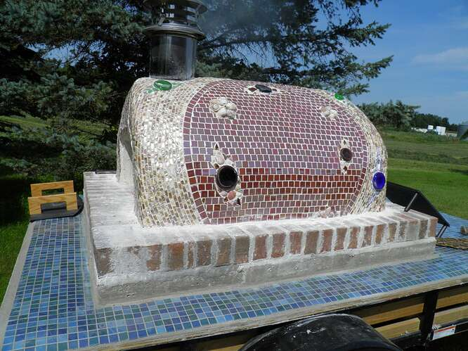 Portable Wood Fired Pizza Oven (14)