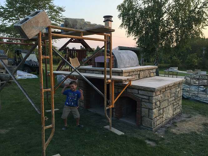 Build Your Own Outdoor Pizza Oven (28)
