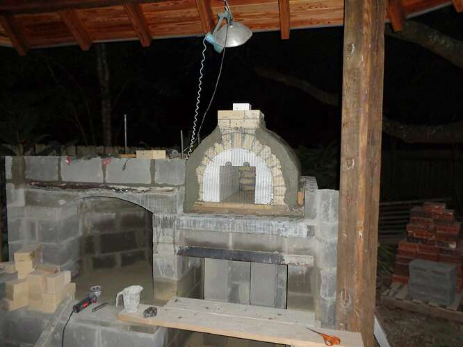 Outdoor Natural Stone Fireplace (6)