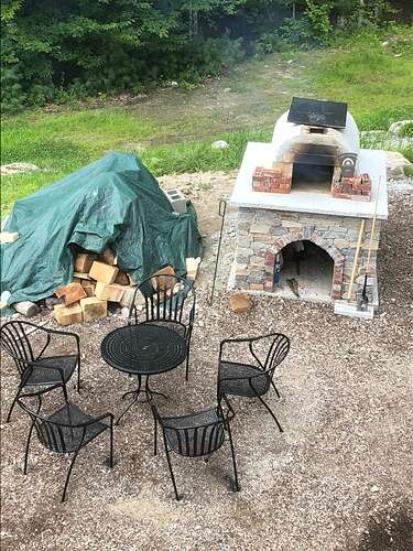 How To Build A Wood Fired Pizza Oven (74)