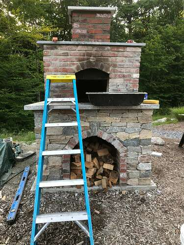 How To Build A Wood Fired Pizza Oven (76)