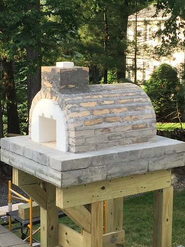 Building a Wood Fired Pizza Oven (21)