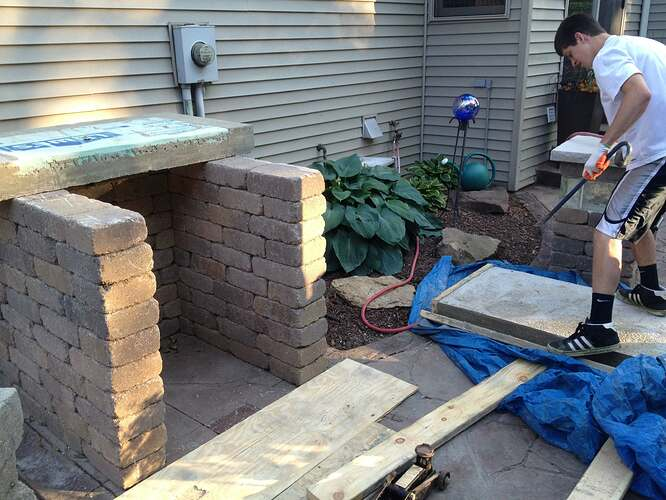 How To Build An Outdoor Brick Oven (47)