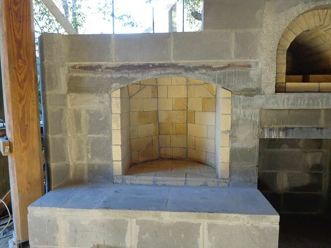 Outdoor Natural Stone Fireplace (13)