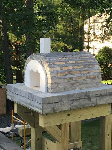Building a Wood Fired Pizza Oven (19)