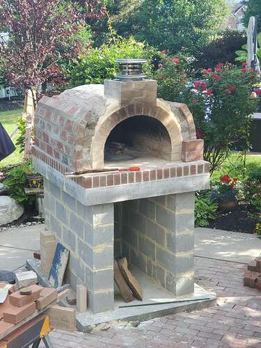 Home Wood Fired Pizza Oven (21)